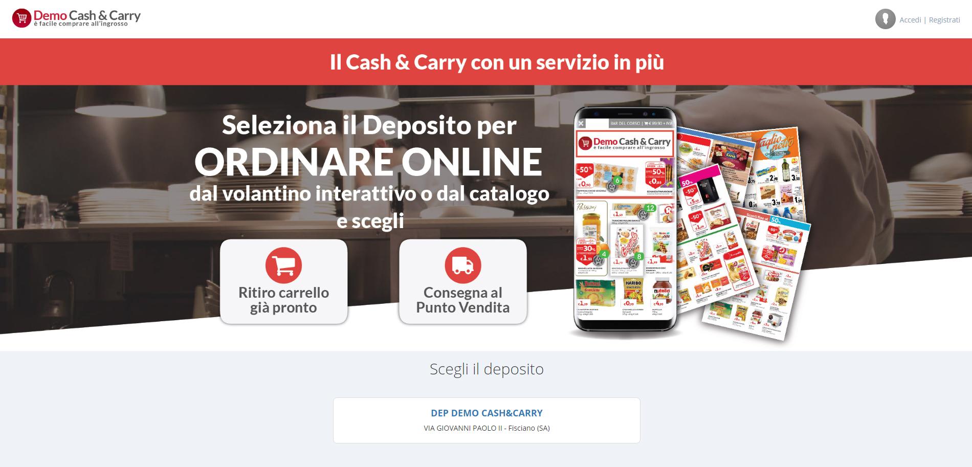 Demo Piattaforma Ecommerce B2B